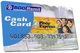 BDO Cash Card